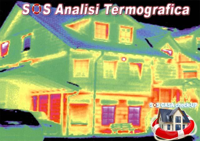Termografia indagini Analisi Termografica
