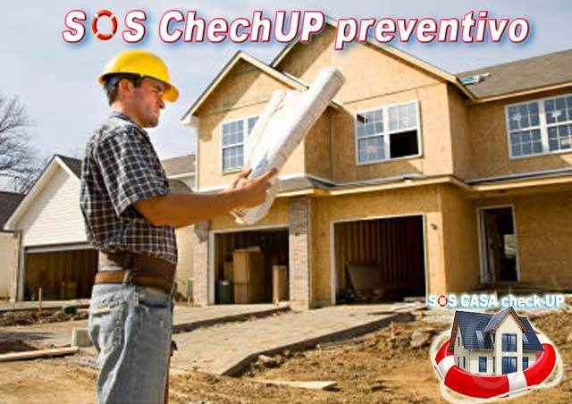 Checkup preventivo prima dell'acquisto o vendita di un immobile casa o capannone