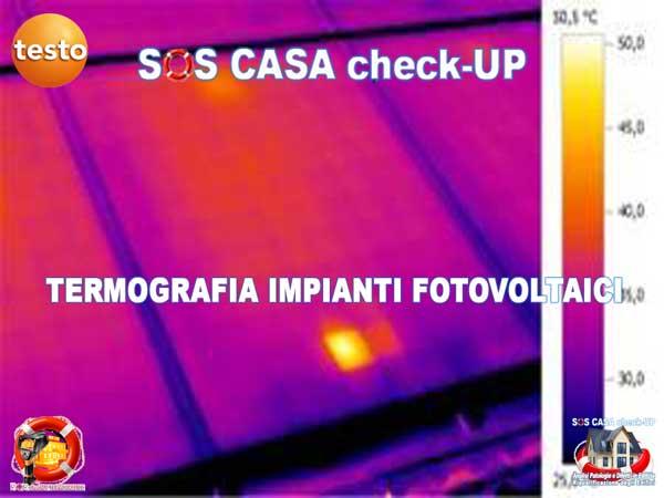 Termografia per impianti fotovoltaici