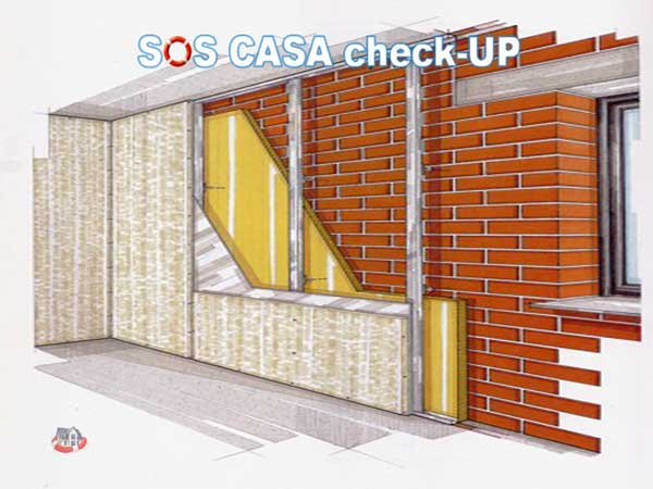 Isolamento a cappotto esterno contro ponti termici e muffe sos casa check up - Cappotto esterno casa ...