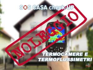 Noleggio di termocamera e termoflussimetro consente di eseguire accurate perizie su vizi e difetti costruttivi o per fare una accurata diagnosi energetica.