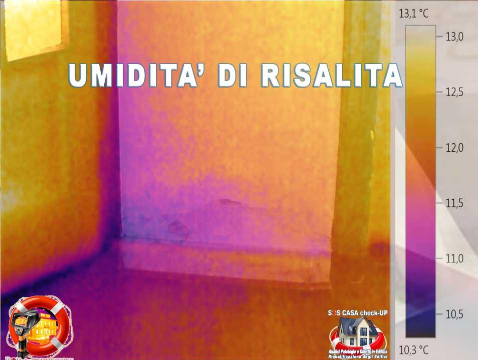 UMIDITÀ DI RISALITA: Come capire le cause dell'umidità nei muri con la termografia