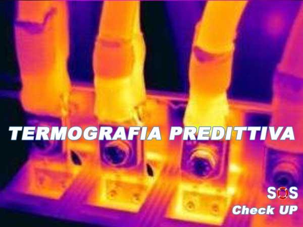 Termografia manutenzione-componenti elettrici quadri
