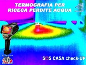 Termografia perdite acqua e infiltrazioni