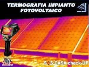 Termografia impianto-fotovoltaico a terra Torino Biella Ivrea