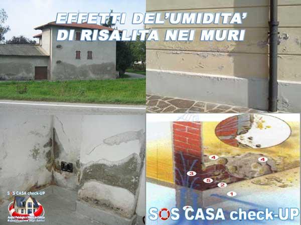 effetti umidità di risalita nei muri