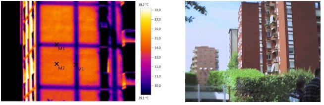 termografia elementi strutturali