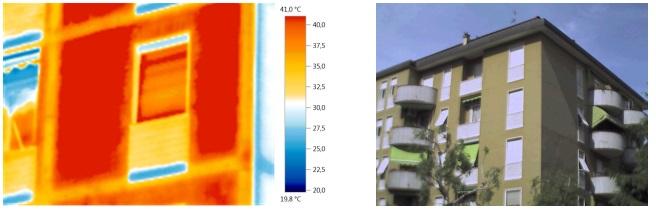 indagine termografica degli elementi strutturali