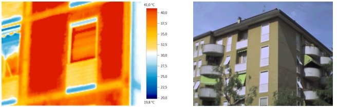 Termografia IR: per l'indagine termografica degli elementi strutturali