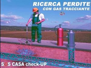 Ricerca perdite con il metodo del gas tracciante