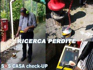 Ricerca Perdite Acqua a Milano con geofono  e gas tracciante