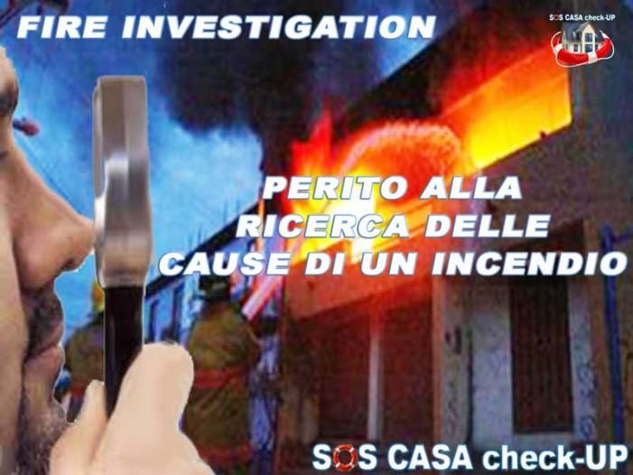 RICERCA DELLE CAUSE DI UN INCENDIO