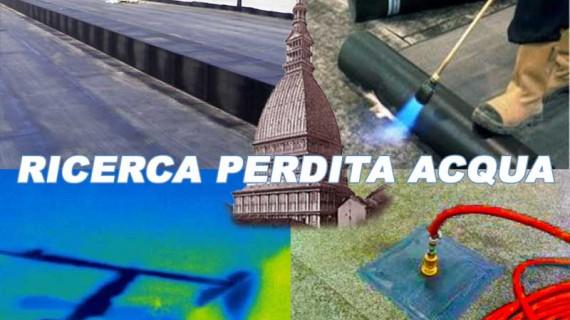 TORINO: Ricerca Perdite Acqua a Torino