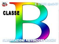 CATEGORIE DELLE ATTIVITÀ SOGGETTE a Prevenzione incendi classe B