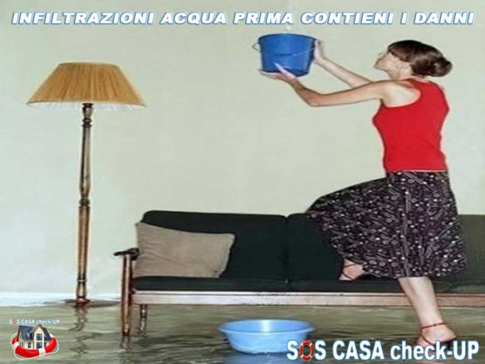 PERIZIA per INFILTRAZIONI Acqua