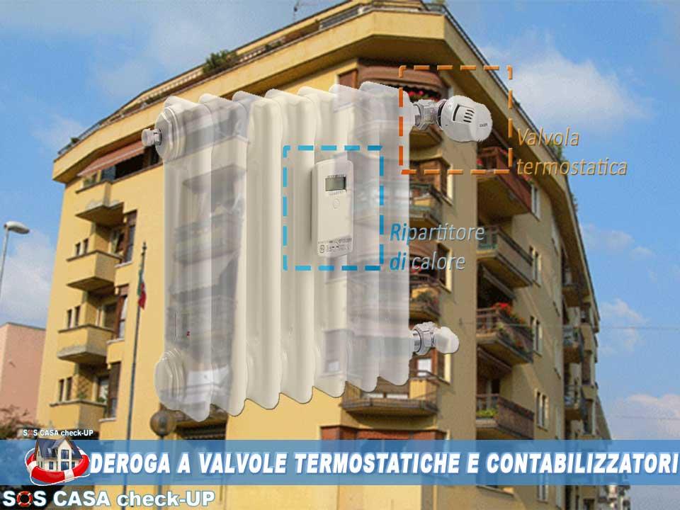 CONDOMINIO:Perizia Tecnica deroga valvole termostatiche