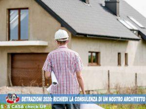 Consulenza Architetto per Detrazioni Fiscali 2020