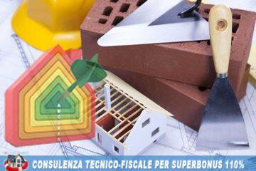 consulenza ecobonus 110 % + consulenza sismabonus 110 % progettazione e pratiche fiscali